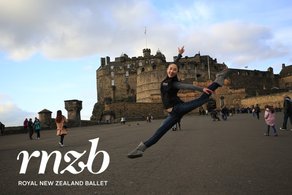 Royal New Zealand Ballet on tour in Europe in 2015