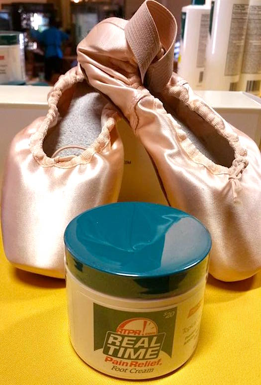 Real Time Pain Relief Foot Cream for Dancers