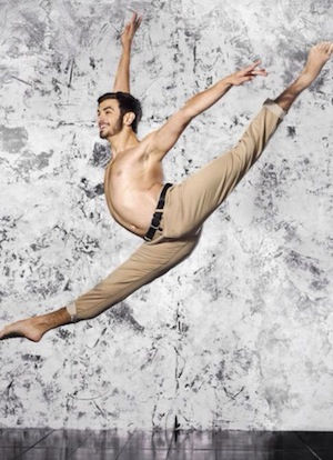 Contemporary dancer Ricky Ubeda