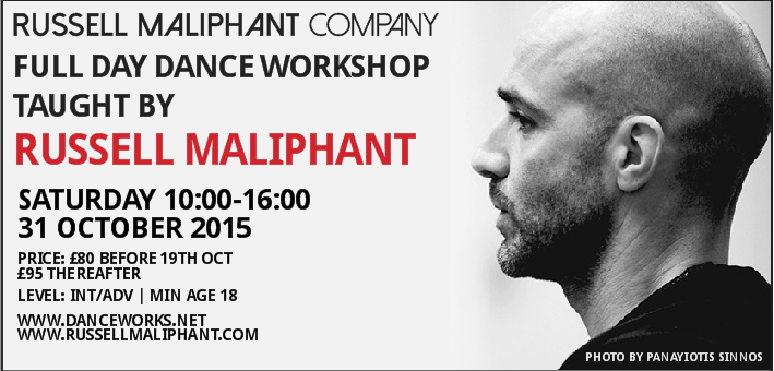 Russell Maliphant London Workshop Fall 2015