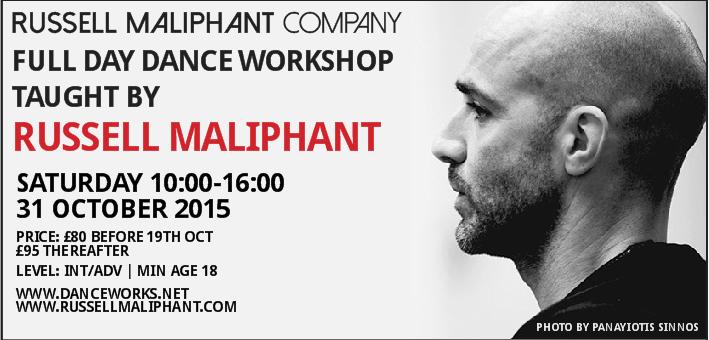 Russell Maliphant London Workshop Fall 2015