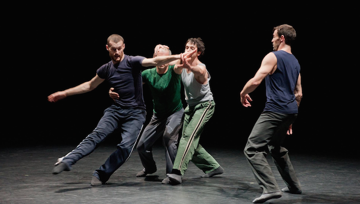 STRUT Dance to collaborate with Forsythe repetiteur Cyril Baldy, pictured on left
