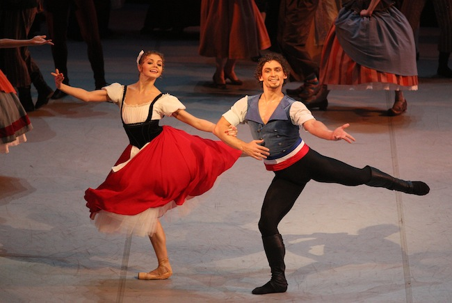 Mikhailovsky Ballet performs The Flames of Paris