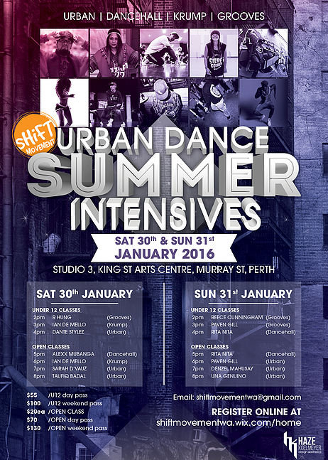 Shift Movement offers Urban Dance Intensives - Dance Informa Australia