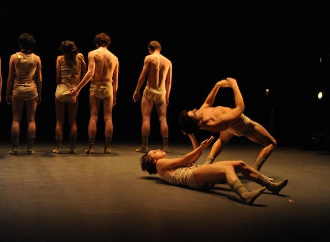 Steps Repertory Ensemble in work by Bradley Shelver