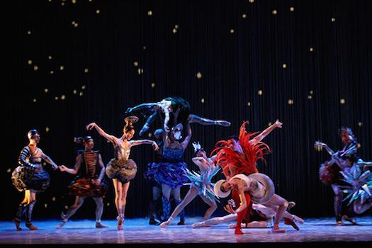 A scene from Ratmansky's Cinderella