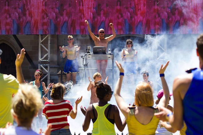 Tristan Meecham's Fun Run at APAM 2014
