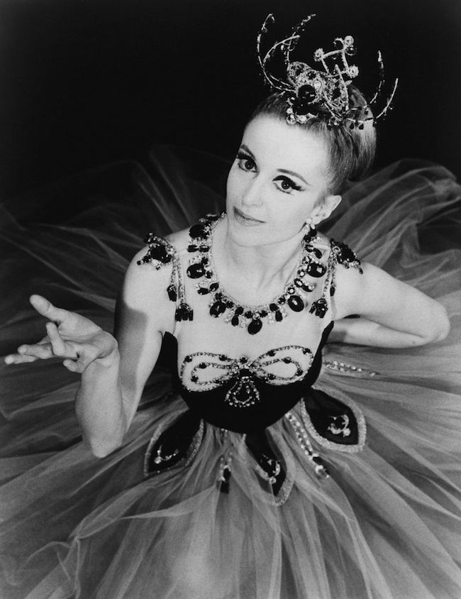 Violette Verdy in George Balanchine's Jewels in 1967. Photo by Martha Swope.