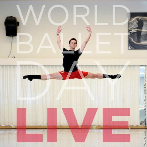 World Ballet Day on October 1 2014