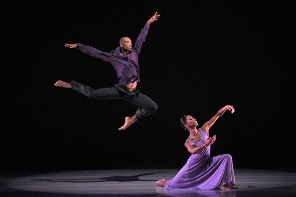 Ailey II's Gentry Isaiah George and Tyler Brown in Robert Battle's We