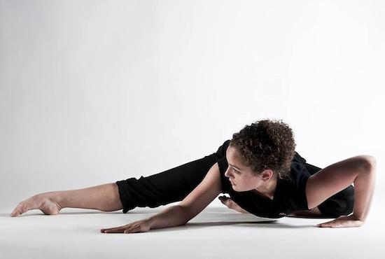 Australian dancer and choreographer Sarah J. Ewing
