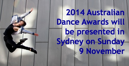2014 Australian Dance Awards