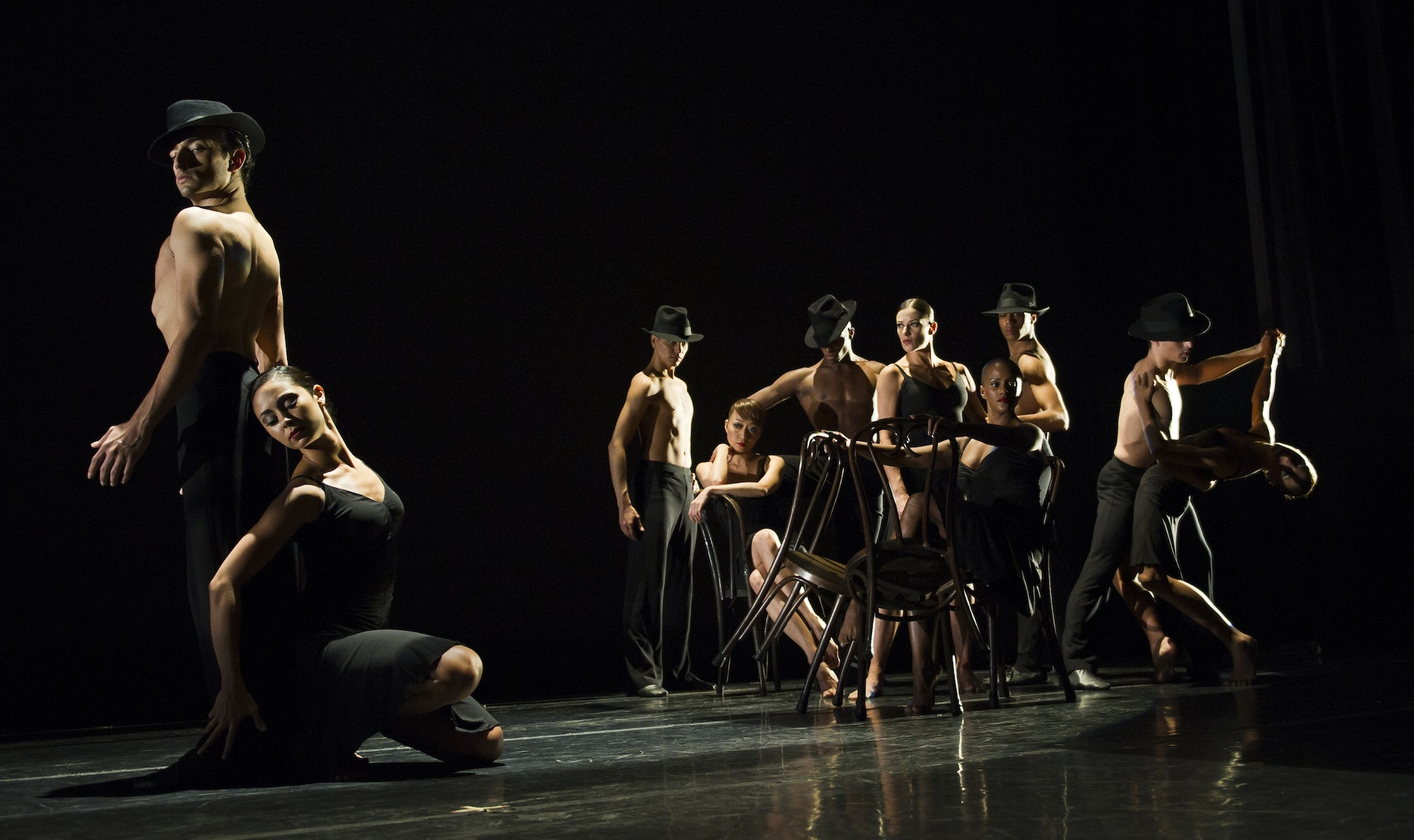 Ballet Hispanico in 'Tango Vitrola'