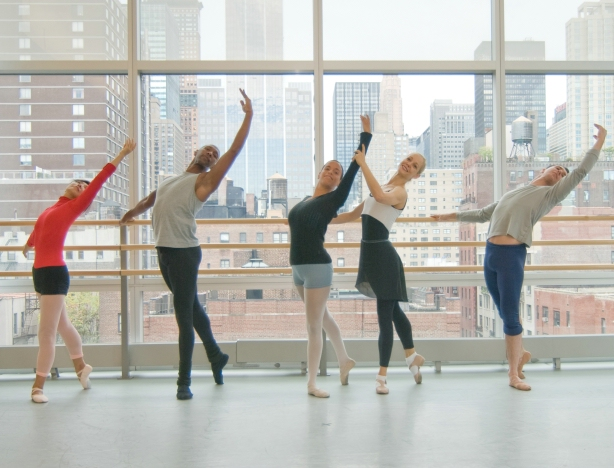 Ailey Extension Ballet class