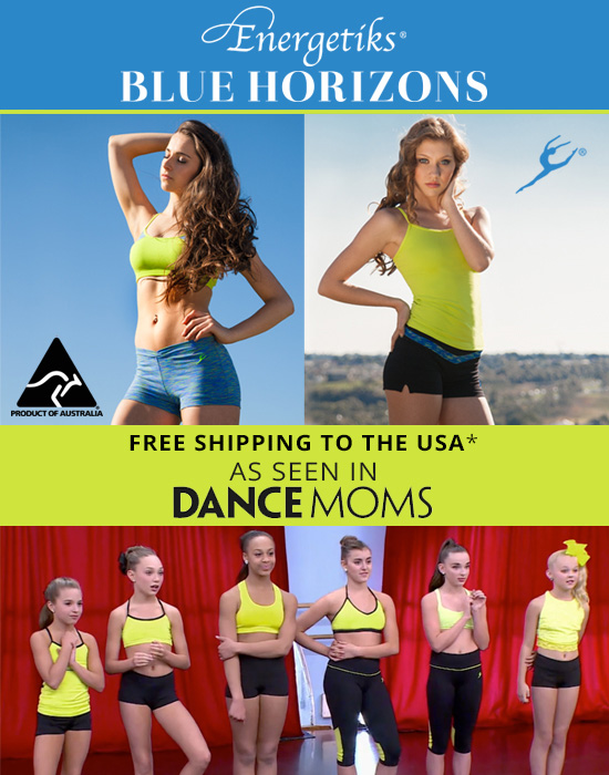 Energetiks by Blue Horizons seen on Dance Moms
