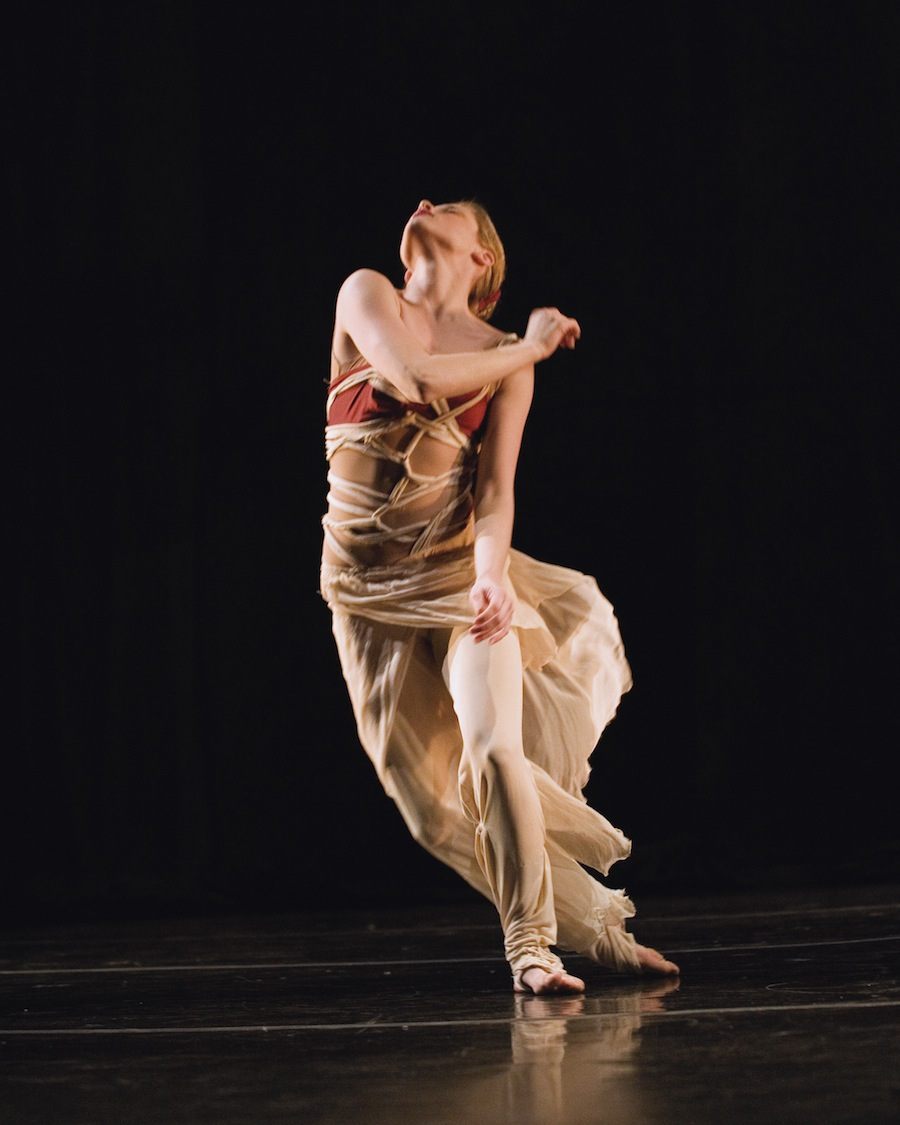 Buglisi Dance Theatre company member Marie Zvosec in 'Sand'
