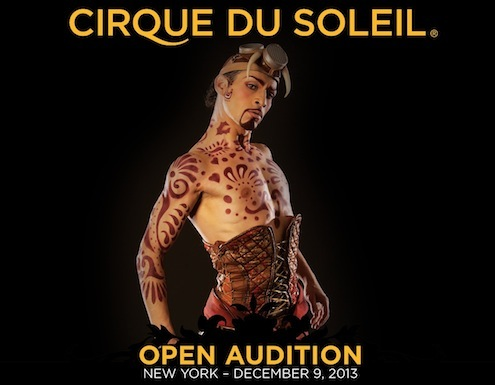 Cirque du Soleil NY Open Audition