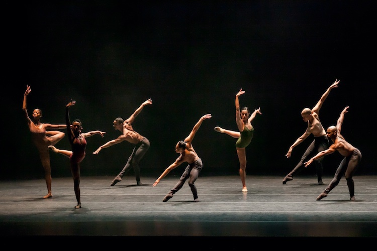Complexions Contemporary Ballet performing Artistic Director Dwight Rhoden's The Curve. Photo by Sharen Bradford.