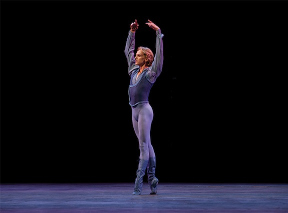 American dancer David Hallberg performs in Australia