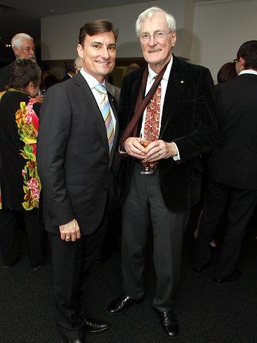 David McAllister of The Australian Ballet with Dr Alan Brissenden AM