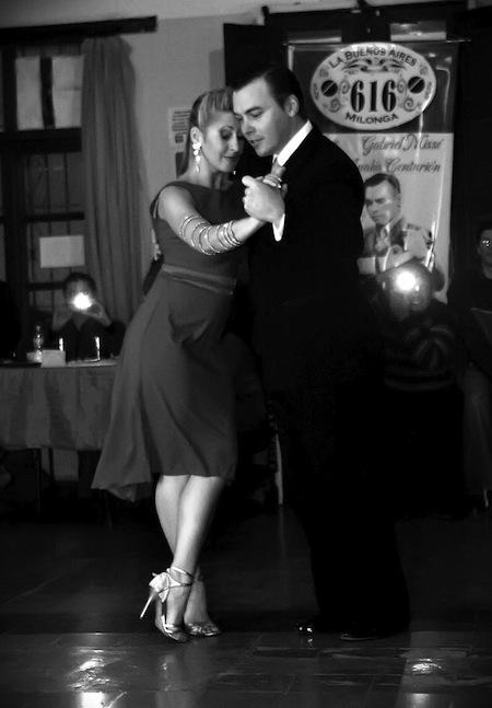 Tango master dancers Gabriel Misse and Analia Centurion