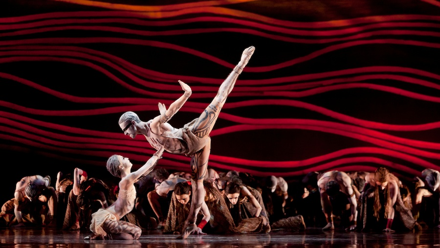 Houston Ballet in Rite of Spring