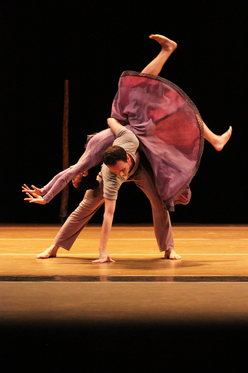 Ballet Hispanico performing Nacho Duato's 'Jardi Tancat.' Photo by Jeaux McCormick.