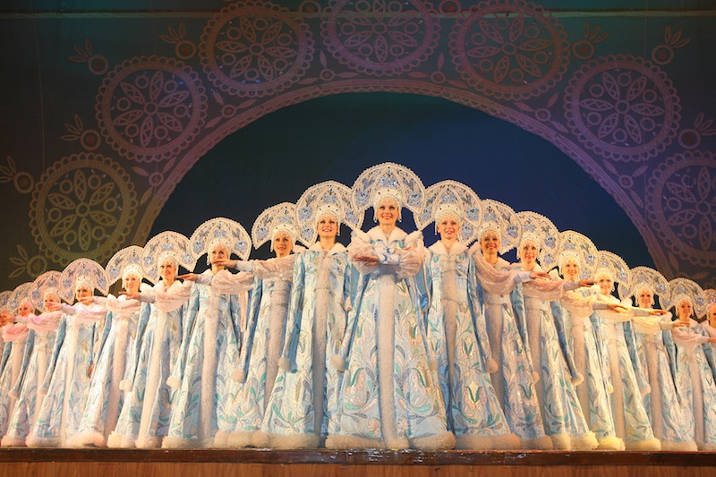 The Krasnoyarsk National Dance Company of Siberia