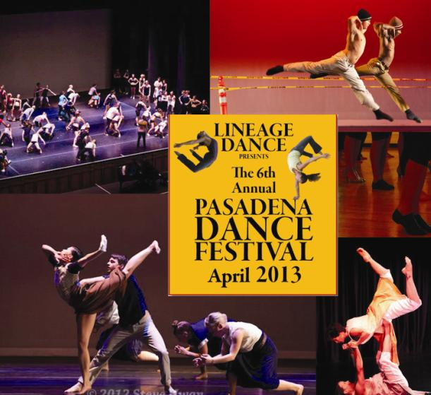 Lineage Dance presents 6th Annual Pasadena Dance Festival