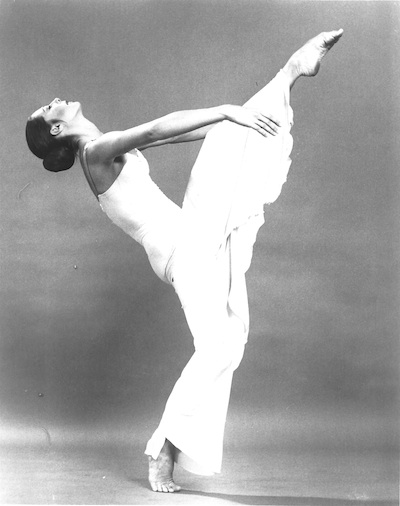 Peggy Lyman Hayes of Martha Graham Dance Company