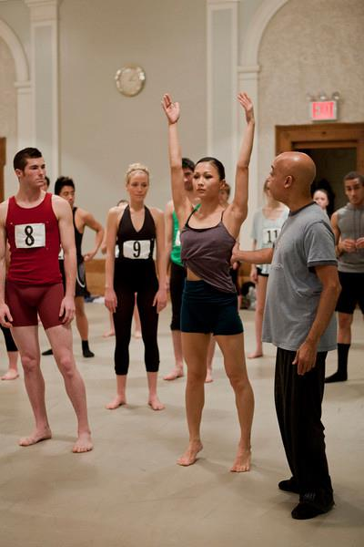 Audition for The School at Jacob's Pillow