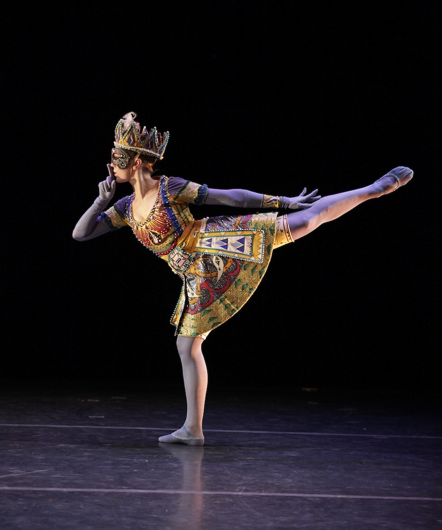 New York Theatre Ballet's Elena Zahlmann performing James Waring's 'An Eccentric Beauty Revisited'