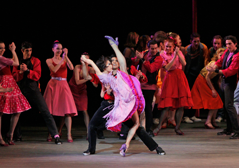 New York City Ballet in 'West Side Story Suite'