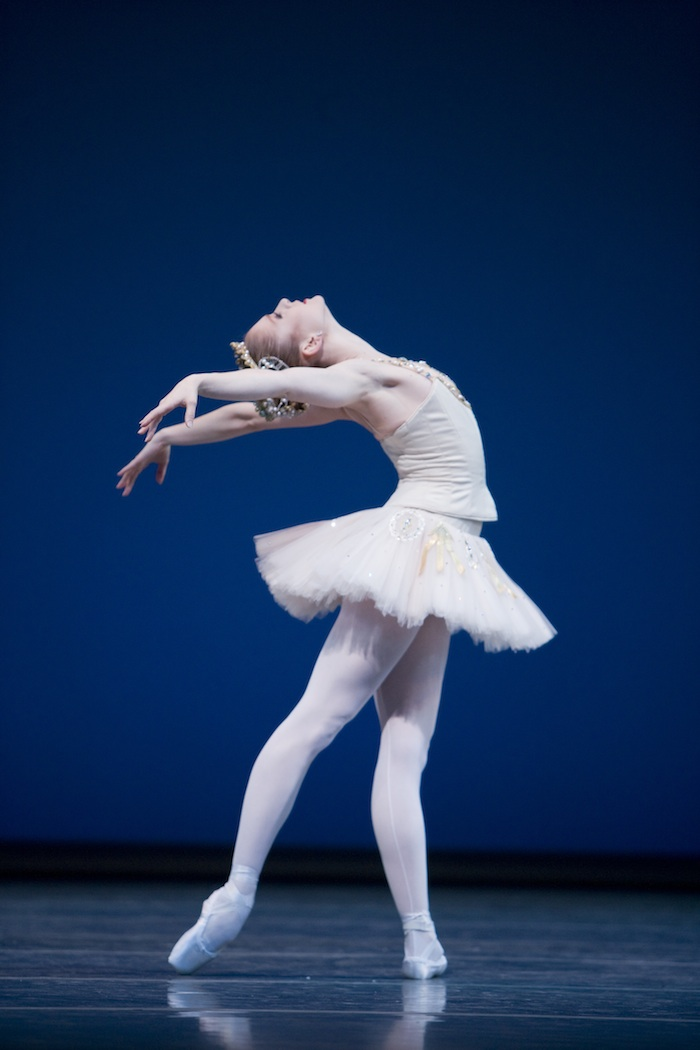 Pacific Northwest Ballet principal dancer Carla Körbes in 'Diamonds'