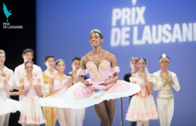 Precious Adams wins award at 2014 Prix de Lausanne