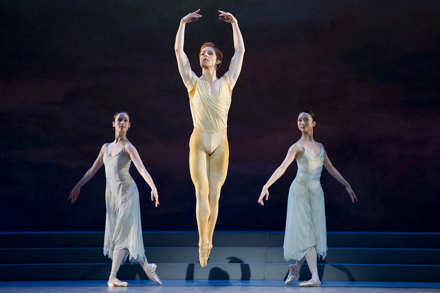 The Royal Ballet in Frederick Ashton's Rhapsody