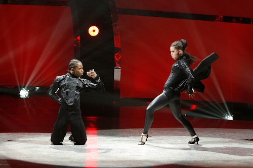 SYTYCD Contestants Amy Yakima and Fik-Shun perform a Paso Doble