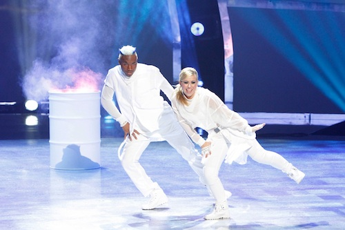 SYTYCD Contestants BluPrint and Mariah Spears perform a Hip-Hop routine