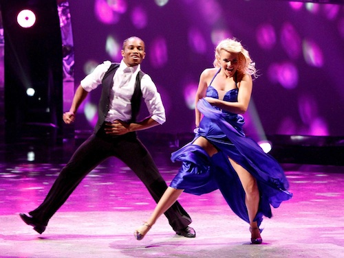 SYTYCD Season 10 Contestant Fik-Shun and all-star dancer Witney Carson perform a Foxtrot