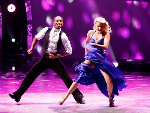 SYTYCD Season 10 Contestant Fik-Shun and all-star dancer Witney Carson perform a Foxtrot