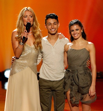 SYTYCD Season 10 eliminated contestants Paul Karmiryan and Hayley Erbert