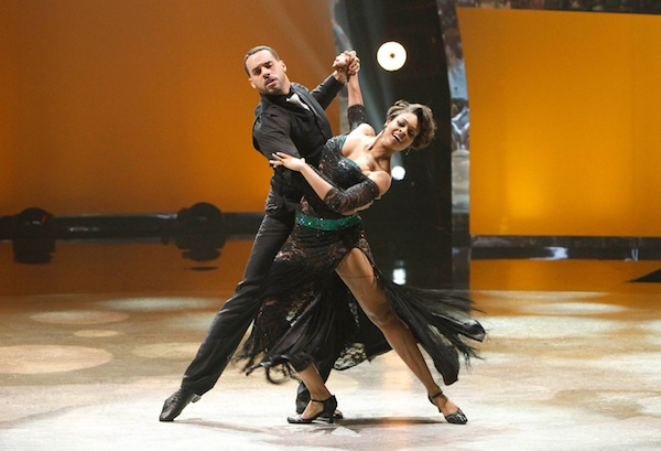 SYTYCD's Aaron Turner and Jasmine Harper in Quickstep routine