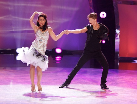 SYTYCD contestants Alexis Juliano and Nico Greetham in Jive routine