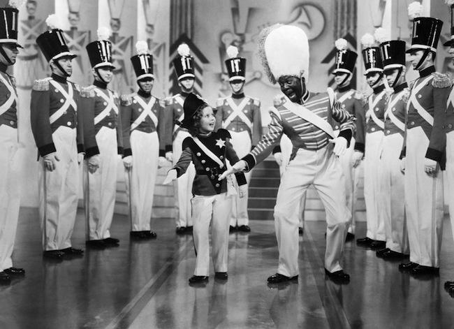 Shirley Temple with Bill Bojangles Robinson
