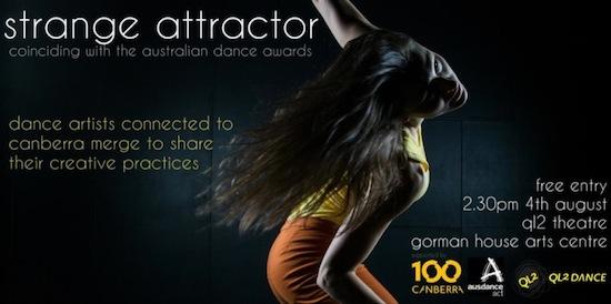 Strange Attractor coinciding with Australian Dance Awards 2013