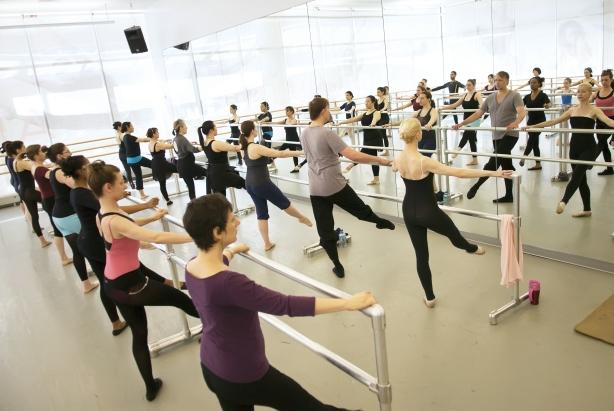 Ailey Extension Ballet class