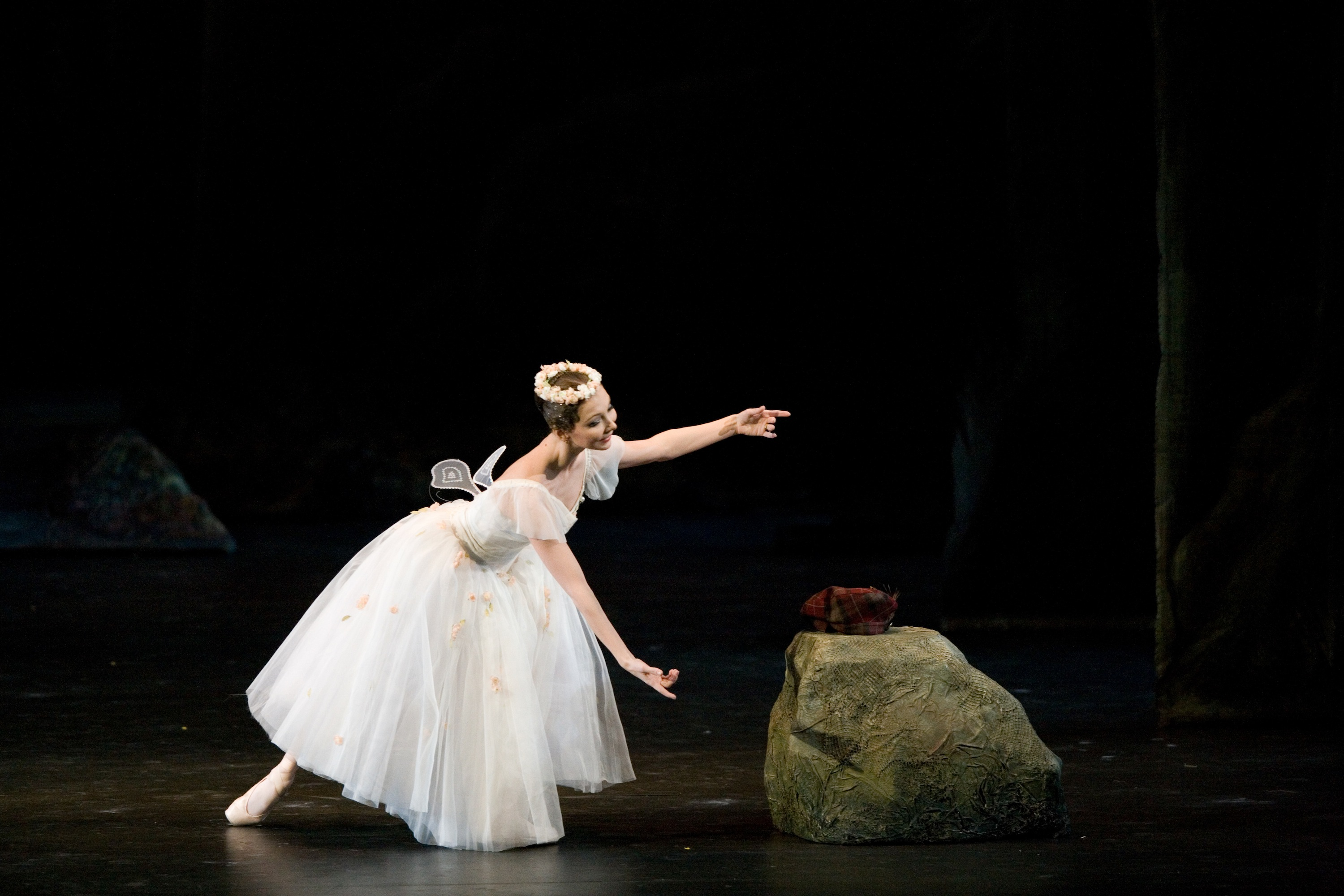 The Bolshoi Ballet performing La Sylphide