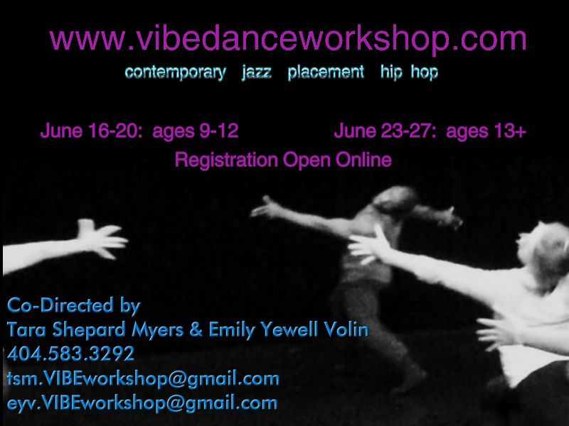2014 VIBE Dance Workshop in Atlanta