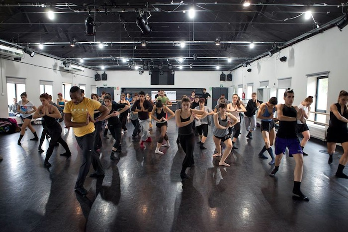 World Dance Movement class with Desmond Richardson