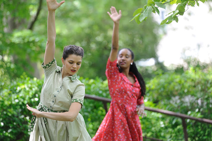 Alight Dance Theater in Garden Performance Series